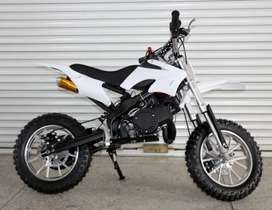 50CC KIDS DIRT BIKE 2 STOCK FOR 5 TO 15 YEARS CHILDREN