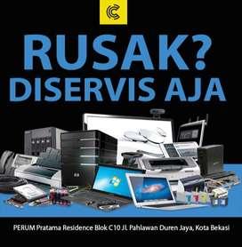 Service & Upgrade Laptop/Komputer Bekasi