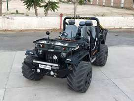 Willy modified jeeps