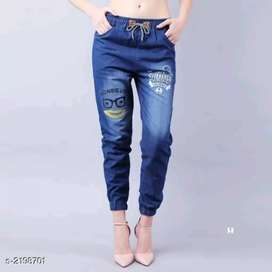 Stylish Women's Denim Pants