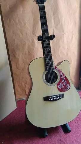 Gitar akustik pemula jumbo gitar string gitar bandung