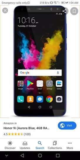Unfortunately sell honor 9i mobile