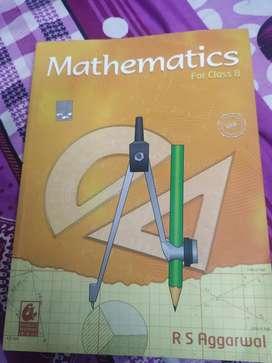 RS Aggarwal mathematics class 8