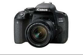 Canon 800D 18-55mm lens