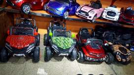 kids 4 wheel drive full verity of battery with remote control