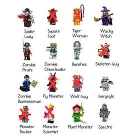 Lego minifigures series 14 Monsters original