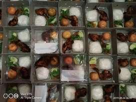 Paket nasi ayam bakar nasi kotak nasi box bento catering jakarta
