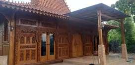Rumah Jawa Kayu Jati Joglo Cocok Untuk Rumah Tinggal
