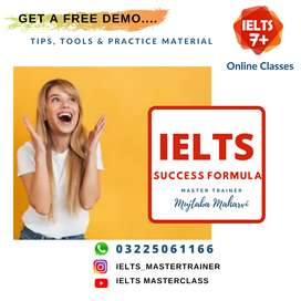 IELTS Preparation 7+ bands Guaranteed in First Attempt
