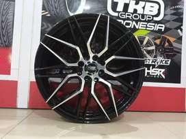 Velg Mobil Racing Daihatsu xenia Ring 17 lebar 7,5 HSR BOTAWA