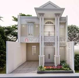 Rumah murah harga 2 lantai