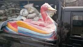 Wahana air sepeda angsa  jual bebek jumbo, perahu air bebek angsa