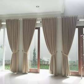 Desain terbaru  gordeng gorden korden curtain vertikal blinds vitrase