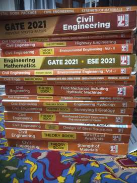 Made easy postal study package 2021 civil engineering for gate and IES