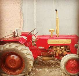 Family tractor for sale with trolley
