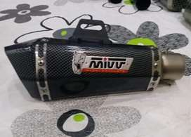 Exhaust for 125cc-1000cc