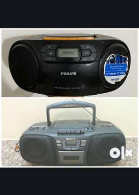 Phillips AZ 329/90   &  Sony CFD-131