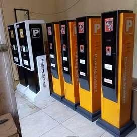 Dispenser bok tiket parkir
