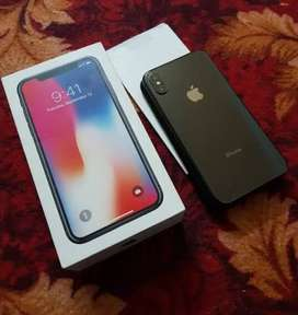 iPhone X black 64 gb
