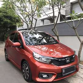 All New Brio RS 2019 CVT AT Asli Plat H Low KM Full Original  Tgn 1