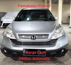 2400cc Matic Honda CR-V CRV Pemakaian Pribadi
