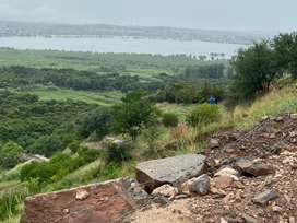Land on mountain with pristine view Kalar Kahar available for rent