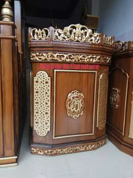 Mimbar masjid podium klasik