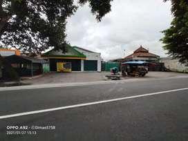 Gudang Rangka Baja Tanah Luas Jalan Raya Prambanan Piyungan Jogja