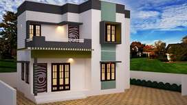 Budget customized villas in kazhakootam Menamkulam 5km from Technopark