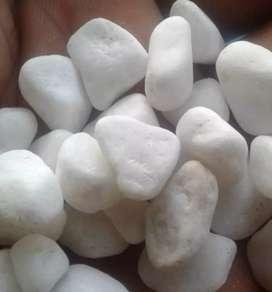 Batu putih taman