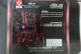 ASUS MOTHERBOARD EX-A320M GAMING