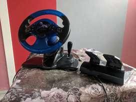 Gaming steering wheel for PC Racing Wheel