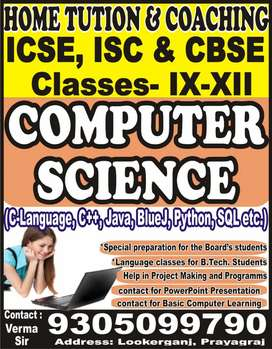 COMPUTER SCIENCE TEACHER
