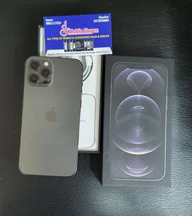 Iphone 12 pro max 256gb 7 days old global purchased with 20w adapter.