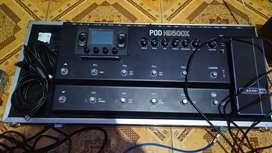 Efek gitar line 6 POD HD500x