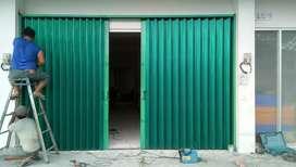 Rolling door folding gate murah berkualitas5743