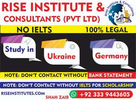 Study in Germany & Ukraine without IELTS.Rise Institute & Consultants