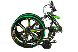 Foldeble cycle in multiple colours