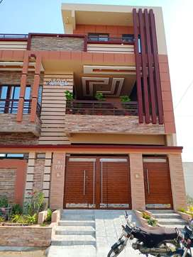 Newly constructed house double story