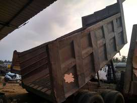 Amw and Tata higway tipper rock body available in