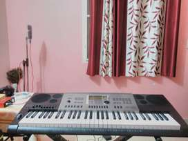 CASIO CTK-7300 IN - KEY BOARD with Indian Styles and Tones.