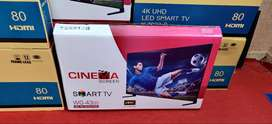 Smart LED TV with 1 year warranty