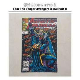Komik Fear The Reaper Avengers #353 Part 2