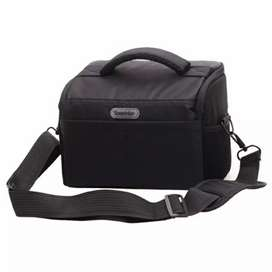 Soudelor Tas Selempang Kamera DSLR for Canon Nikon - 5002 - Black