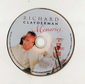 "DVD Richard Clayderman ""Memories"""