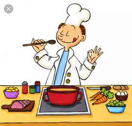 I want a cook