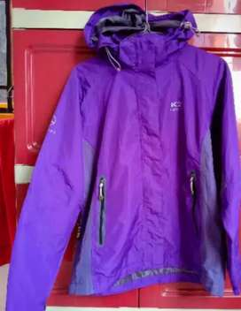 Jaket outdoor gunung K2 PINATUBO ungu womens Original