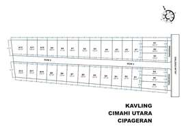 Kapling Cipageran Cimahi Utara Lokasi Strategis dekat Alun-alun Cimahi