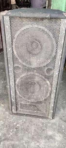 Home theater dj system 2 speaker 12/12