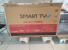"""50"""" Smart plus Android led tv wih warranty"""